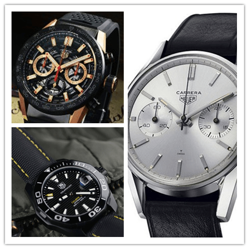 More professional Swiss Tag Heuer Replica chronograph