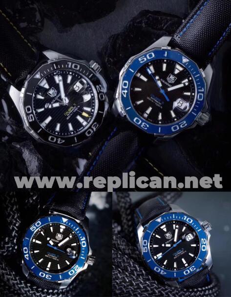 TAG Heuer 300M Aquaracer Series Replica Watch Detailed